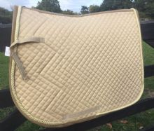 MARK TODD SADDLE PAD - BEIGE GOLD - SALE
